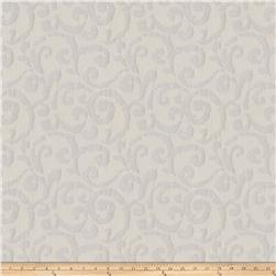 Fabricut Hypnotic Scroll Silver Sparkle