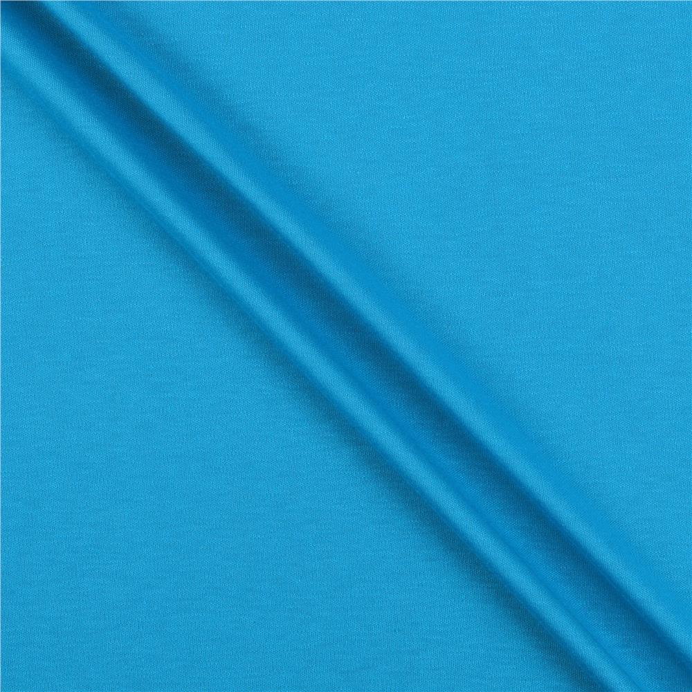 Interlock knit turquoise discount designer fabric for Where to order fabric