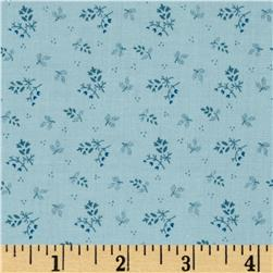 Scrap Happy Vintage Ditsy Teal