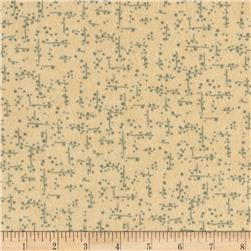 Moda Winter Forest Flannel Snow Grid Cream