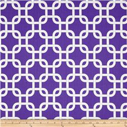 Premier Prints Gotcha Twill Candy Purple/White Fabric