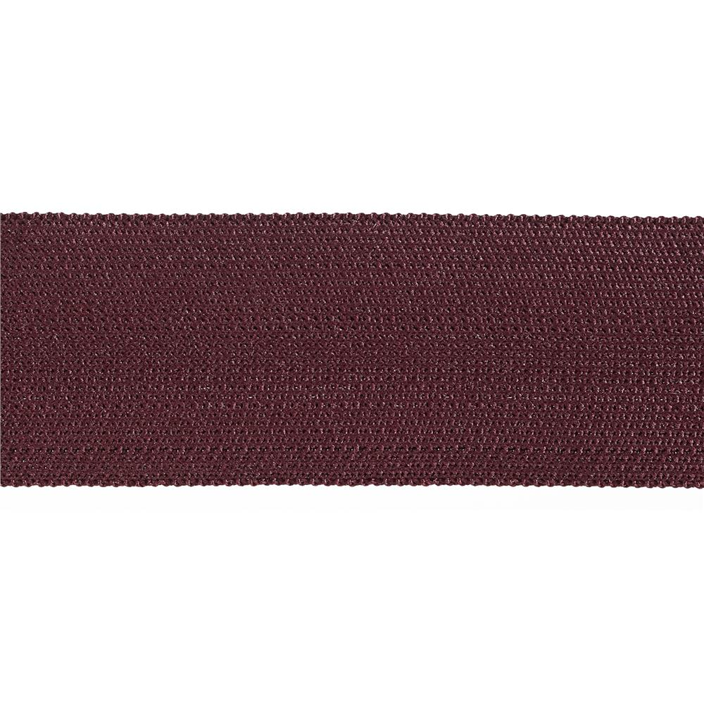 "Team Spirit 1-1/2"" Solid Trim Maroon"