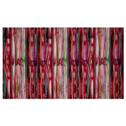 Watercolor Way Stripe Digitally Printed Rayon Challis