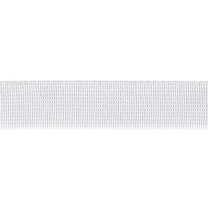"Pajama Elastic 1"" Wide 12 Yards-White"