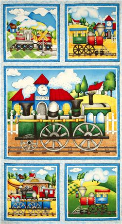 Riding The Rails Craft Panel Multi