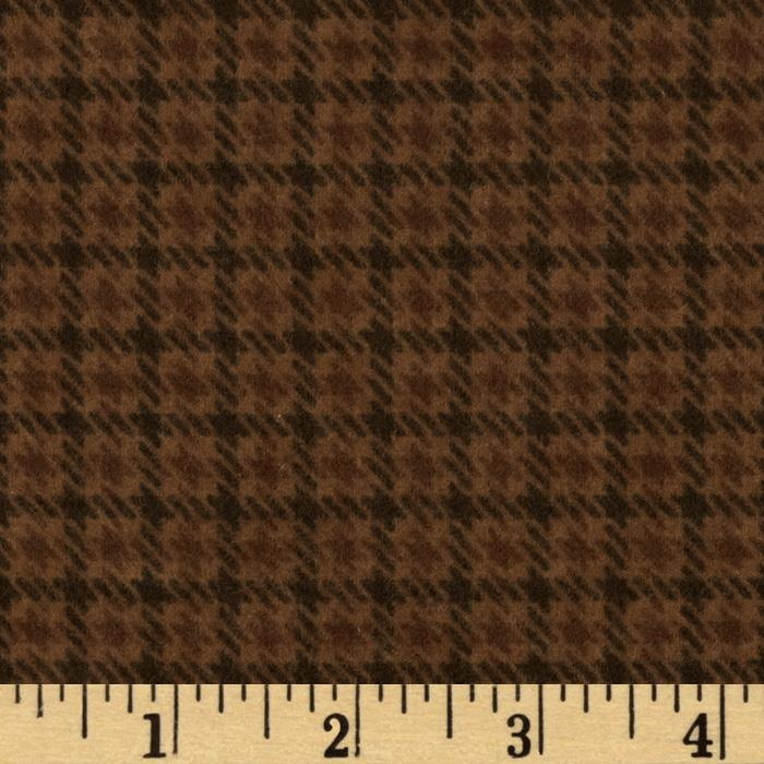 Moda Wool & Needle Flannel II Loden Plaid