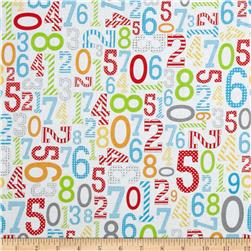 Riley Blake Surprise! Numbers Multi Fabric