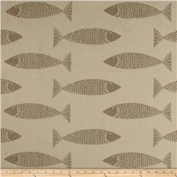P Kaufmann Indoor/Outdoor Jacquard Fish Dune