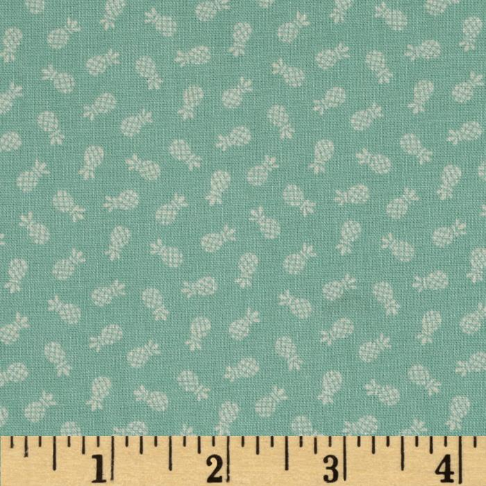 Americana Collection Pineapple Turquoise
