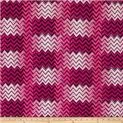 ITY Knit Shimmer Chevron Pink