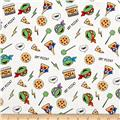 Nickelodeon Teenage Mutant Ninja Turtles Retro Got Pizza? White