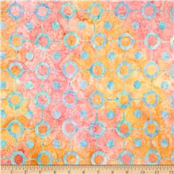 Artisan Batiks Pop Op Circle String Sorbet