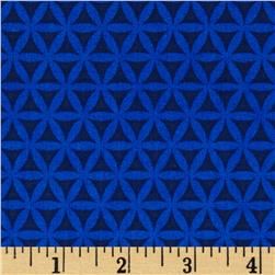 Singin' the Blues Lattice Navy/Royal