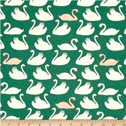 Birch Organic Swan Lake Interlock Knit Bevy Mint