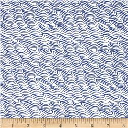 Lewis and Irene Coastal Waves White