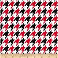 Remix Houndstooth Red
