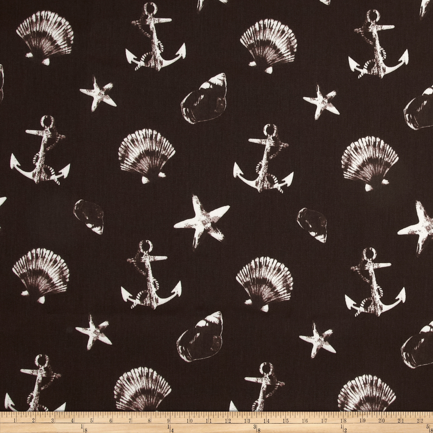 Image of Largo Acrylic Indoor/Outdoor Anchor Chocolate Fabric