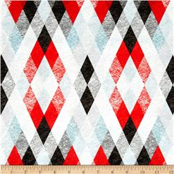 Starlight Argyle Red