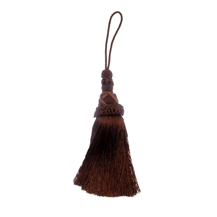 "Trend 12.5"" 01747 Key Tassel Chocolate"