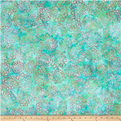 Kaufman Artisan Batiks Asian Legacy Flowers Sweet
