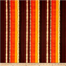Kanvas Sun Valley Metallic Sunset Stripe Orange