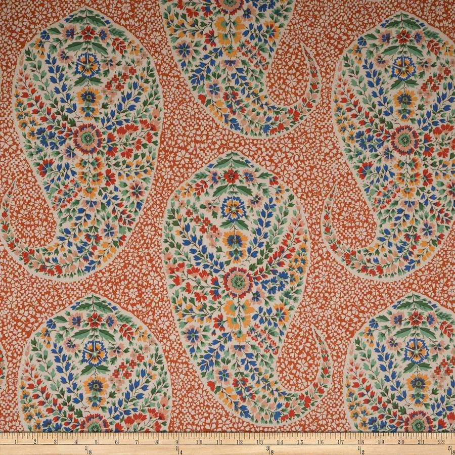 Collier Campbell Mosaic Paisley Fired Clay