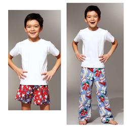 Kwik Sew Sleep Boys Pants & Shorts Pattern