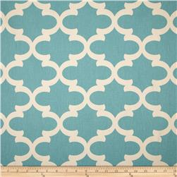 Premier Prints Fynn Village Blue/Natural