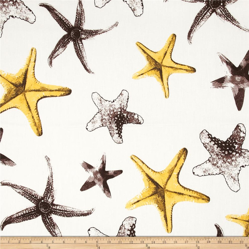 Largo Acrylic Indoor/Outdoor Starfish Yellow