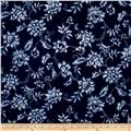 Indigo Summer Graphic Floral Navy