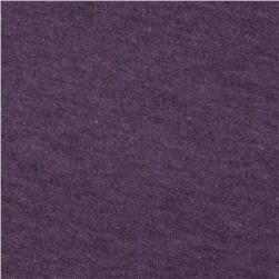 Tri-Blend Heather Jersey Knit Deep Orchid