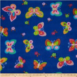 Polar Fleece Prints Monarch Royal Blue