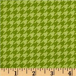 Kimberbell's Merry & Bright Houndstooth Green
