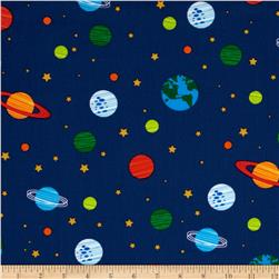 Orbit Solar System Blue