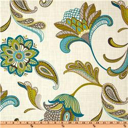 Covington Savannah Paisley Surf Fabric