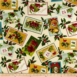 Yuletide Memories Postcards Multi