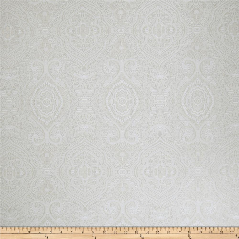 Fabricut Stand By Me Faux Silk Alabaster