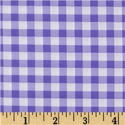 Dear Stella Bay Breeze Gingham Check Purple