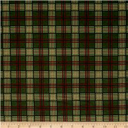 Moda Endangered Sanctuary Flannel Plaid Forest