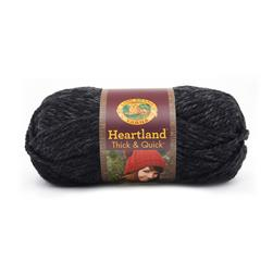 Lion Brand Heartland Thick & Quick Yarn Black Canyon