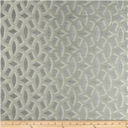 HGTV HOME Backlit Satin Jacquard Platinum Fabric