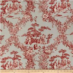 Hennessy Toile Gray Red