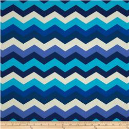 Waverly Sun N Shade Panama Wave Azure Fabric