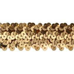 Team Spirit #66 Sequin Trim Gold