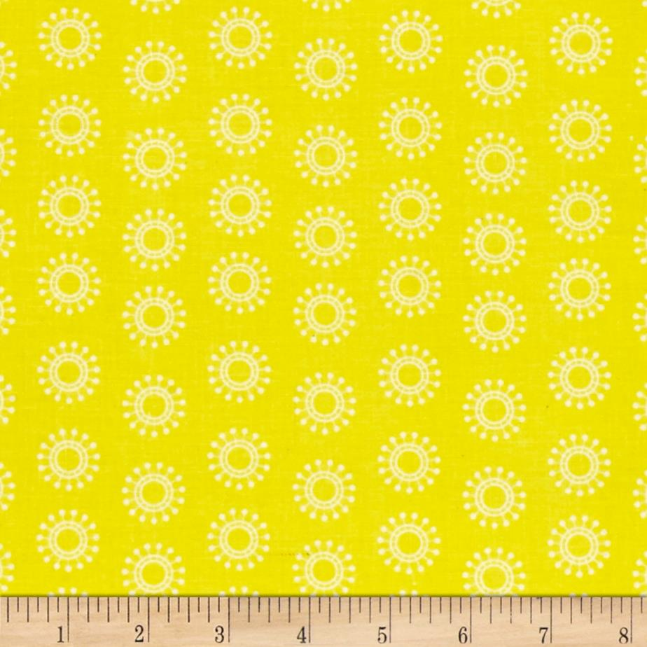 Sanyo Small Flowers Yellow