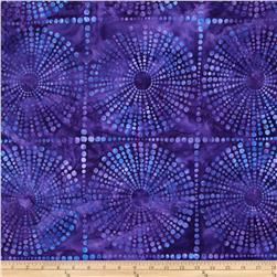 Artisan Batiks Bubbles Large Bubble Geo Iris