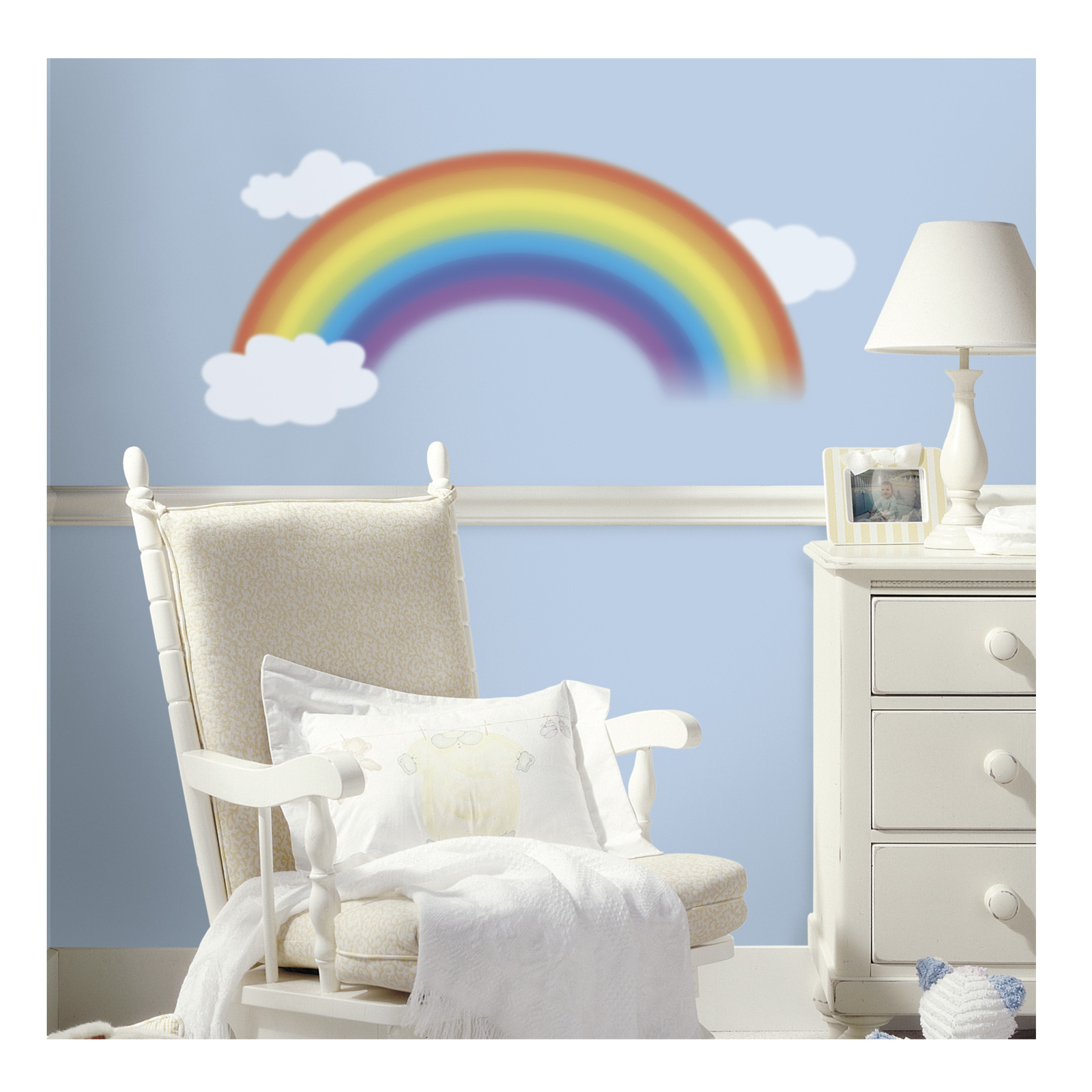 Over The Rainbow Wall Decal by Stardom Specialty in USA