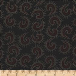 Heritage Hollow Star Paisley Black