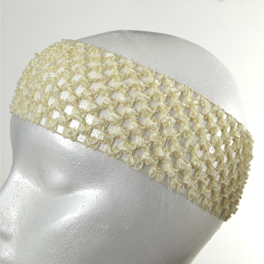 Crocheting On Fabric : Crochet Headband Ivory - Discount Designer Fabric - Fabric.com