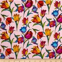 Marblehead Butterflies Are Free Tulips Pink